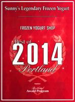 """sunny's Legendary Frozen Yogurt"""