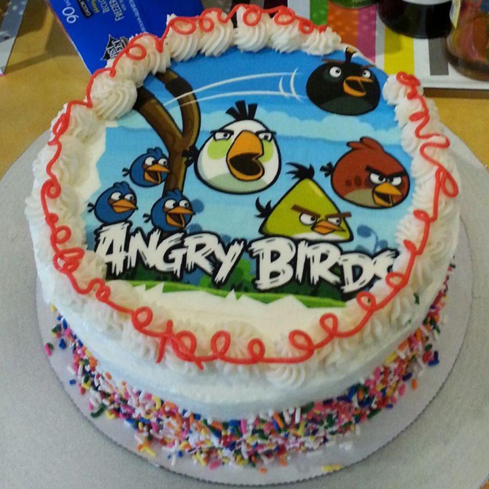 Birthday Cake Images With Name Sunny : Custom Birthday Cake - Sunny s Legendary Frozen Yogurt
